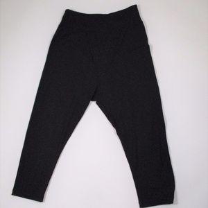 Lululemon 10? Black Harem Pants Leggings Cropped